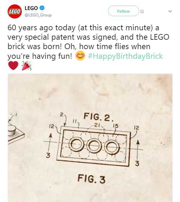 Lego Birthday Brick